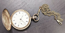 Silver Case - Circa 1870, Key Wind New listing