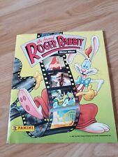 Panini : Who Framed Roger Rabbit Sticker Album from 1988 : 100% Complete