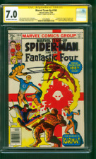 Marvel Team Up 100 CGC 7.0 SS Fantastic Four & Spider Man 1st Karma