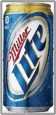 Miller Lite Beer Can Refrigerator / Tool Box Magnet Man Cave Item