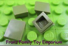New LEGO Lot of 12 Olive Green 1x1x2//3 Mini Slopes