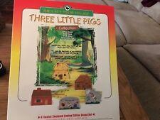 Cat's Meow Village Three Little Pigs