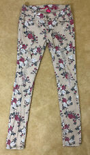 Almost Famous Size 5 Juniors Destroyed Floral Jeans / Pants