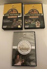 Lot Total Training Adobe Photoshop 6 DVDs Web Graphics Series 1 &3 Fundamentals