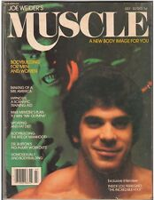 Muscle Builder Bodybuilding LOU FERRIGNO Incredible Hulk / Mike Katz 7-79
