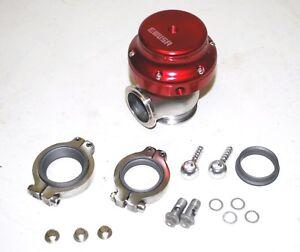 RED Universal EMUSA 38MM V-BAND 14PSI Wastegate Mazda Toyota Sicion Dodge Acura