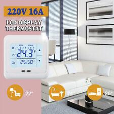 Mini Digital Indoor Floor Heating Thermostat LCD Display Temperature Controller