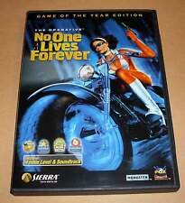 PC Game Spiel - No One Lives Forever - Game of the Year Edition Deutsch komplett