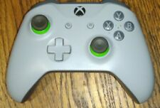 Genuine Microsoft - Xbox Wireless Controller - Gray and Green - WL3-00060 - (UD)