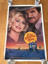 3 Movie Posters THE BEST LITTLE WHOREHOUSE IN TEXAS 1982 Dolly Parton Burt