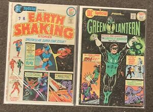 DC Special Presents #18,20 Earth Shaking Green Lantern