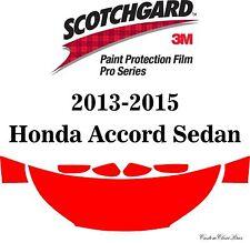 3M Scotchgard Paint Protection Film Pro Series Fits 2013 2015 Honda Accord Sedan
