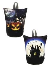 Ganz H9 Halloween Light Up Door Stoppers W/ Timer 7.5in H - Moon House
