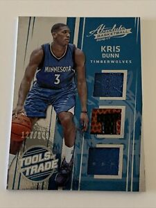 2016-17 Kris Dunn Absolute Basketball Tools of the Trade Rookie #127/149 JA-B