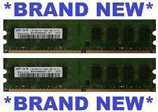 SAMSUNG 2x 2Gb DDR2-800/PC2-6400 4Gb Desktop/PC RAM AUSSIE SUPPLIER FREEPOST