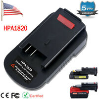 HPA1820 Battery Adapter For Black & Decker 20V Li-ion To 18V NiCad & NiMh Tools