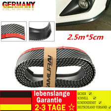 2,5mx5cm Front Spoiler Lippe Seiten Schweller universal flexibel Carbon viele ??