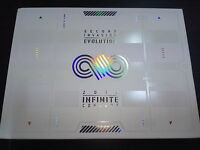INFINITE 2012 Concert Second Invasion Evolution 2 DVD Photobook Normal RARE Good