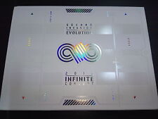 INFINITE 2012 Concert Second Invasion Evolution 2 DVD Photobook Normal RARE Good
