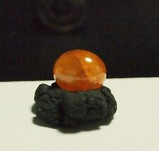Garnet-Spessartine Spessartite orange-cab,6.38ct,9.1x10.9x6mm,GS-A35