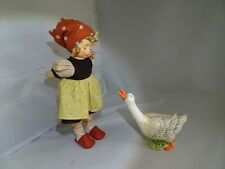 """Large M.I. Hummel Figurine Goose Girl 14"""" Tall New In Box"""
