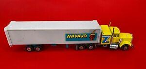 Vintage Yatming Navajo Indian Tribe Rare Tractor Trailer Semi Truck