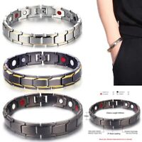 Men Women Therapeutic Energy Healing Copper Magnetic Bracelet  Therapy Arthritis