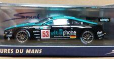 WOW EXTREMELY RARE Aston Martin DBR9 #53 Vitaphone 24h Le Mans 2008 1:43 Spark