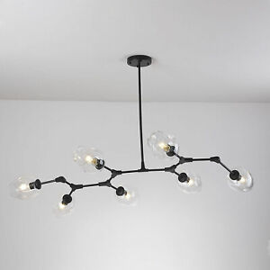 Nordic Branching Bubble Lights Lindsey Glass Pendant Light Chandeliers Lamp