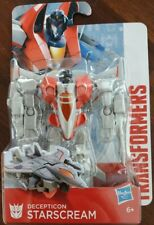 """Transformers Authentics Decepticon """"Starscream"""" 10cm Figura De Acción Nuevo y Sellado"""