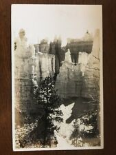 1940 RPPC Queen Victoria , Bryce Canyon National Park, Utah D10