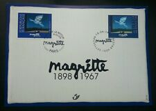 Belgium France Joint Issue René Margritte 1998 Bird (joint FDC) *Rare