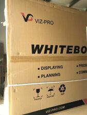 Viz Pro Magnetic Dry Erase Board 60 X 48 Inches Silver Aluminium Frame