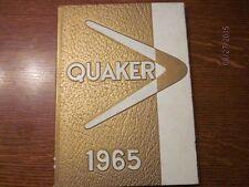 1965 William Penn College, Oskaloosa, Iowa, The Quaker Yearbook Annual - Nice!