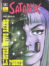 Satanik n.141 - 3 giugno 1970 - Sette balze verso la morte