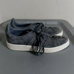 Adidas Campus Suede Women's Size 8 Shoes Gray White Athletic Low Top Sneakers