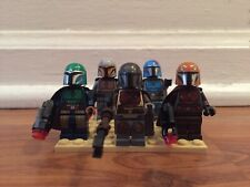 LEGO STAR WARS The Mandalorian Minifigure Clan, 75254, 75267 (5 Minifigures)