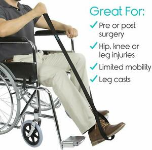 Leg Lifter Disability Aid with Loop Handle for Hip Injury & Replacements