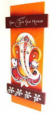 Key Holder - Decorative, Handcrafted, Wooden with God Photo- Shree Ganeshji 101