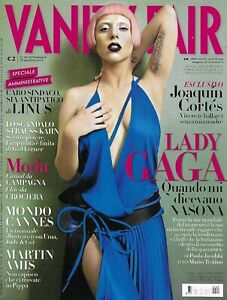 Vanity Fair Magazine Lady Gaga Joaquin Cortes Martin Amis Cannes Fashion 2011
