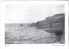 """*Postcard-""""Keeper's Wives Fishing"""" /Xtra Food Supply/*Thacher Island MA (A261-4)"""