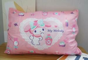 my melody pink cake fuzzy single pillowcase pillow cover pillowcases model
