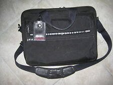 TUMI Alpha Black ESSENTIAL BRIEF Laptop Computer Case Carry on Bag 26130D4 USED