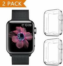 PEYOU Cover per Apple Watch Series 5/Series 4 44mm (2 Pezzi), Proteggi Schermo