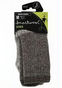 Smartwool Unisex Hike Merino Medium Cushion Crew Socks Brown M6-8.5, W7-9.5 Sz M