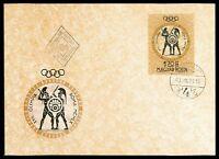 UNGARN MK 1960 OLYMPIA ROM OLYMPICS SCHWERTKAMPF FECHTEN MAXIMUM CARD MC cn73
