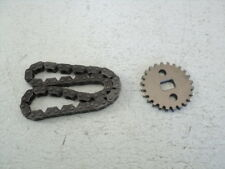 Honda GL 1500 GL1500 #8543 Oil Pump Drive Gear & Chain
