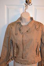 NEW Neslay Beige Tan Blazer Jacket Cotton Lined Small