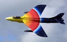 "Hawker Hunter ""Miss Demeanour"" F-58A Aircraft Mahogany Kiln Wood Model Large New"
