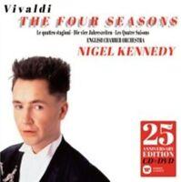 Vivaldi: The Four Seasons [25th Anniversary Edition] CD & DVD Nigel Kennedy
